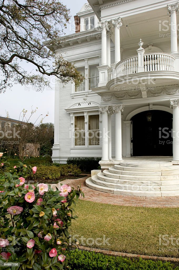 Garden district stock photo