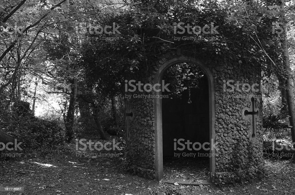Garden folly, U.K. royalty-free stock photo