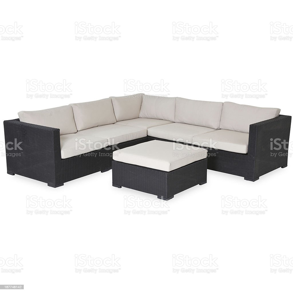 Garden furniture royalty-free stock photo