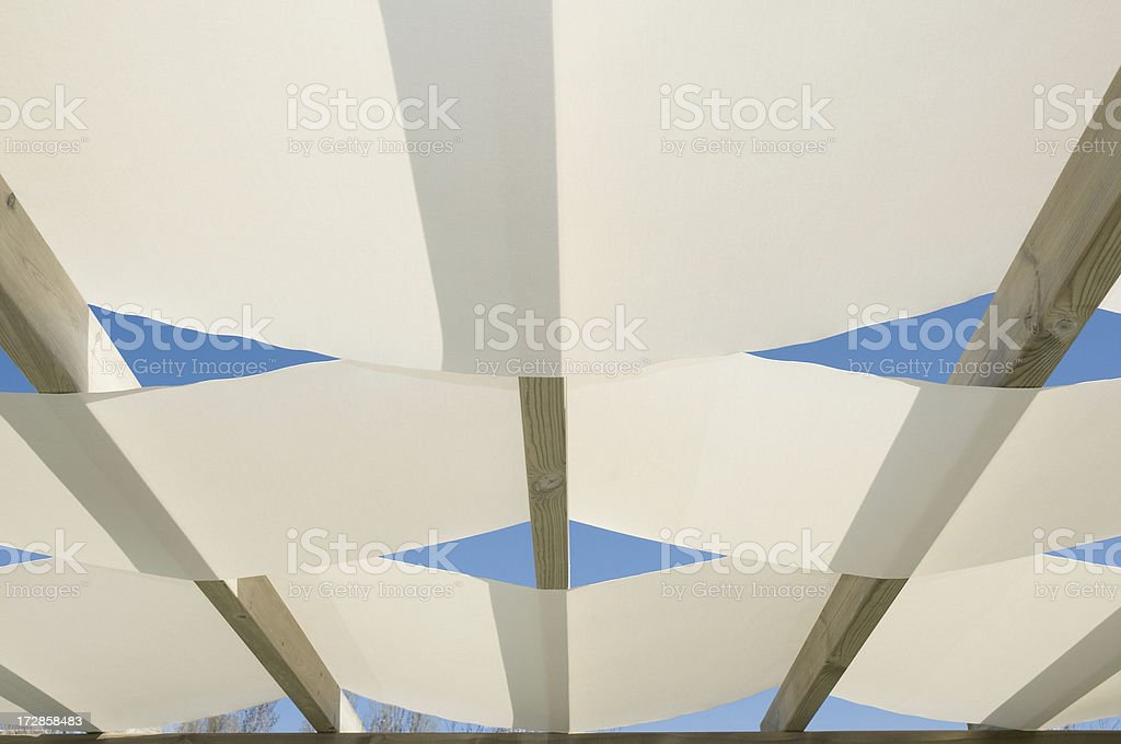 Garden furniture top royalty-free stock photo