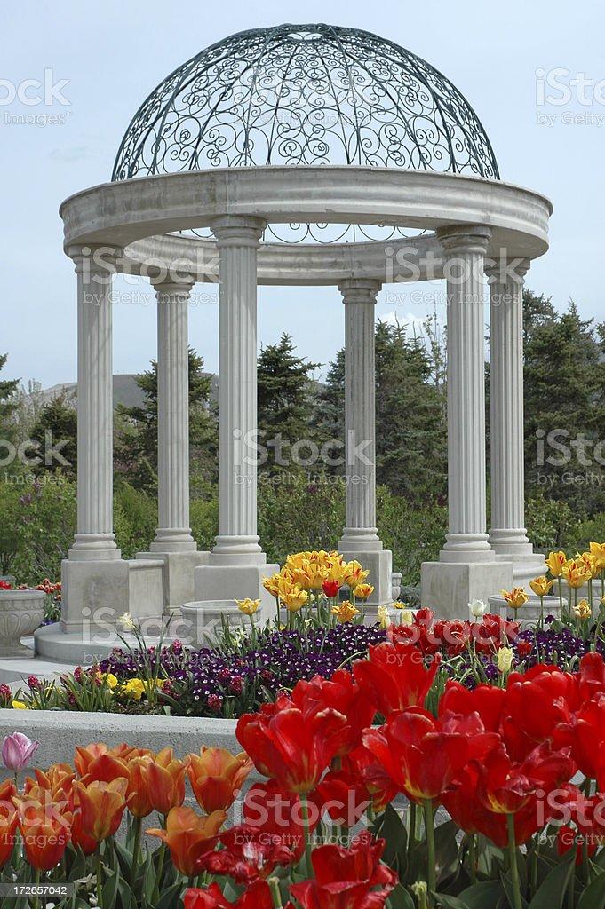 Garden Gazebo royalty-free stock photo