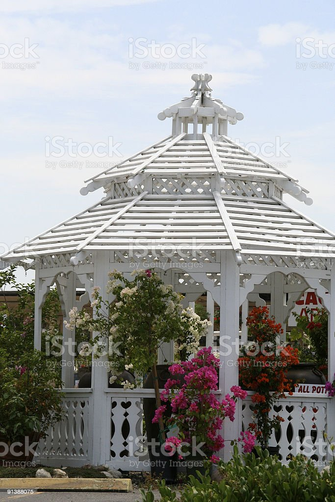 Garden Gazebo royalty-free stock photo
