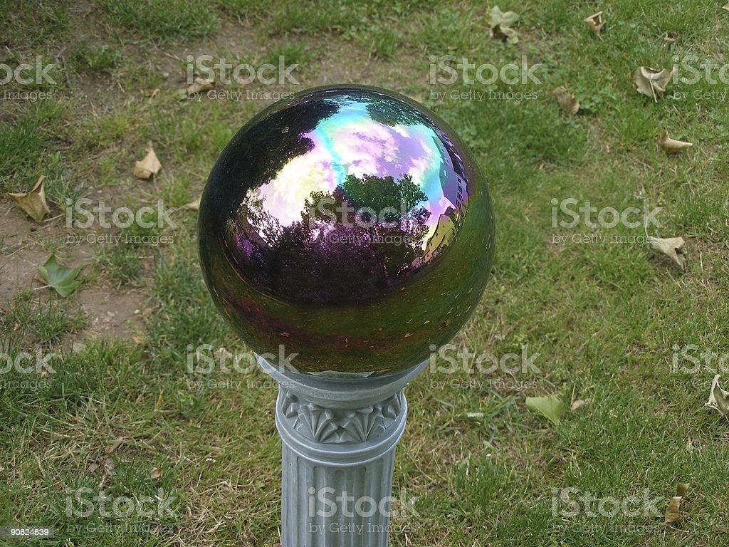 Garden Globe royalty-free stock photo