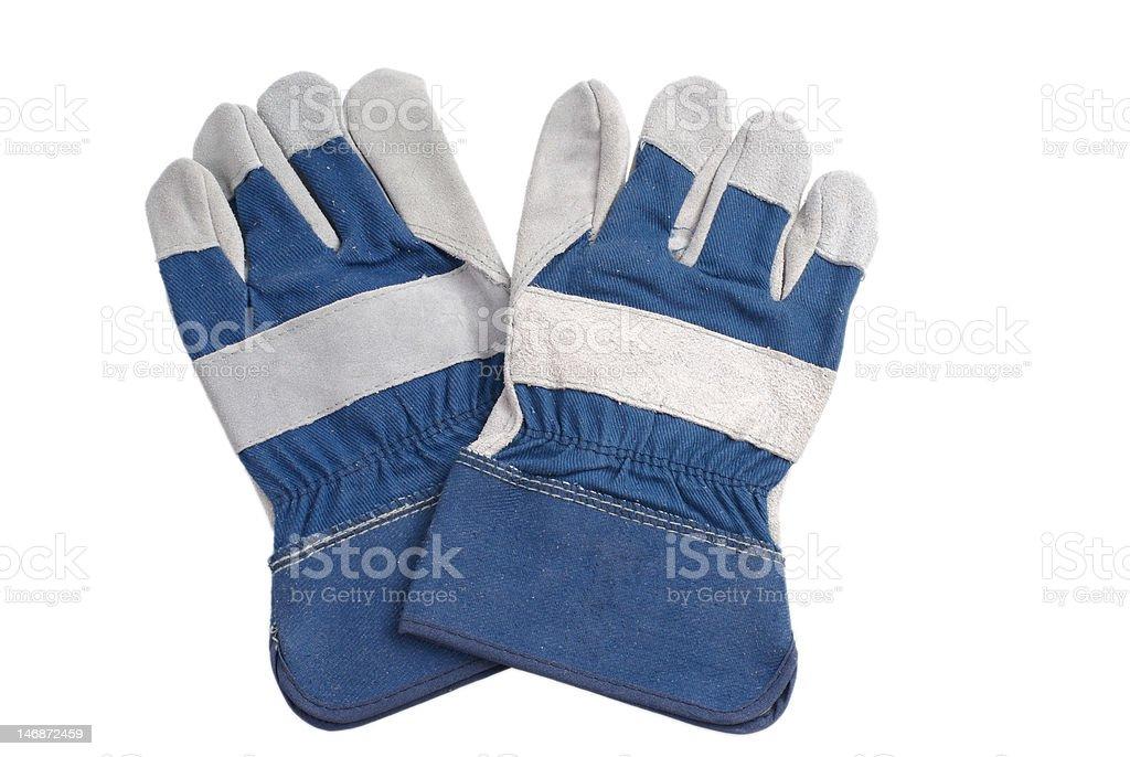 Garden gloves royalty-free stock photo