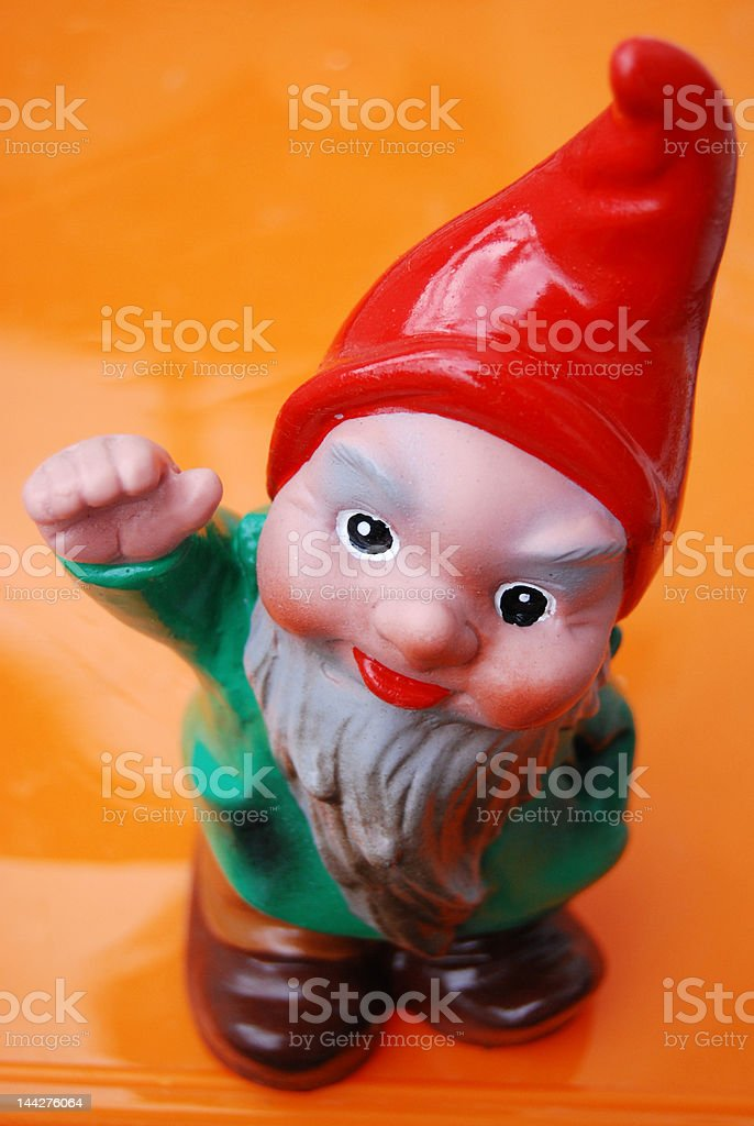 garden gnome royalty-free stock photo