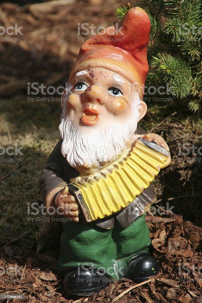 garden gnome royalty-free stock photo