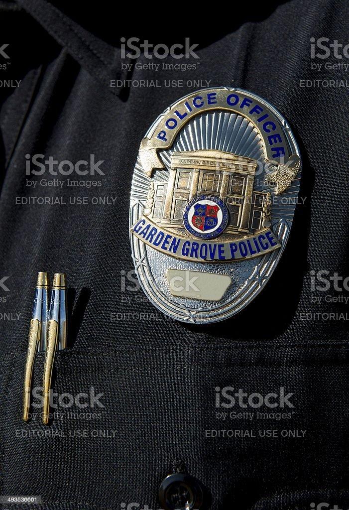 Garden Grove Police stock photo