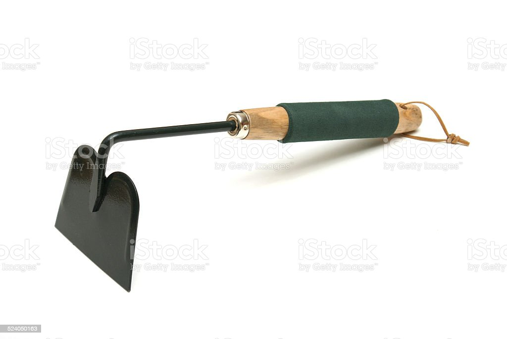 Garden Hoe stock photo