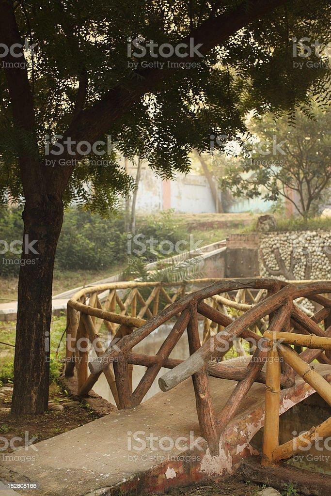 Garden in India royalty-free stock photo