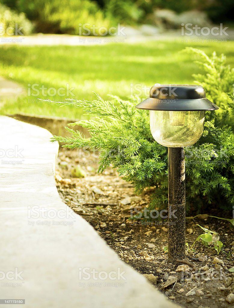 garden lamp royalty-free stock photo