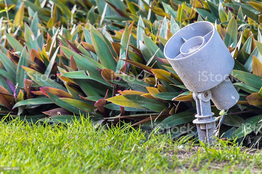 Garden light. stock photo