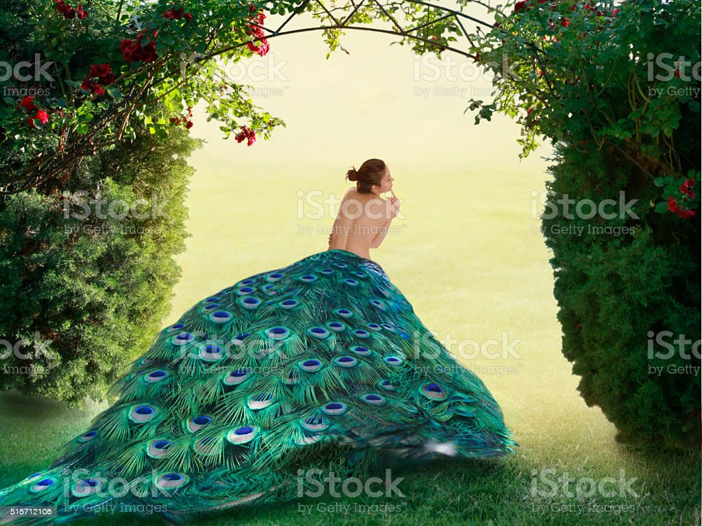 Garden of Eden stock photo