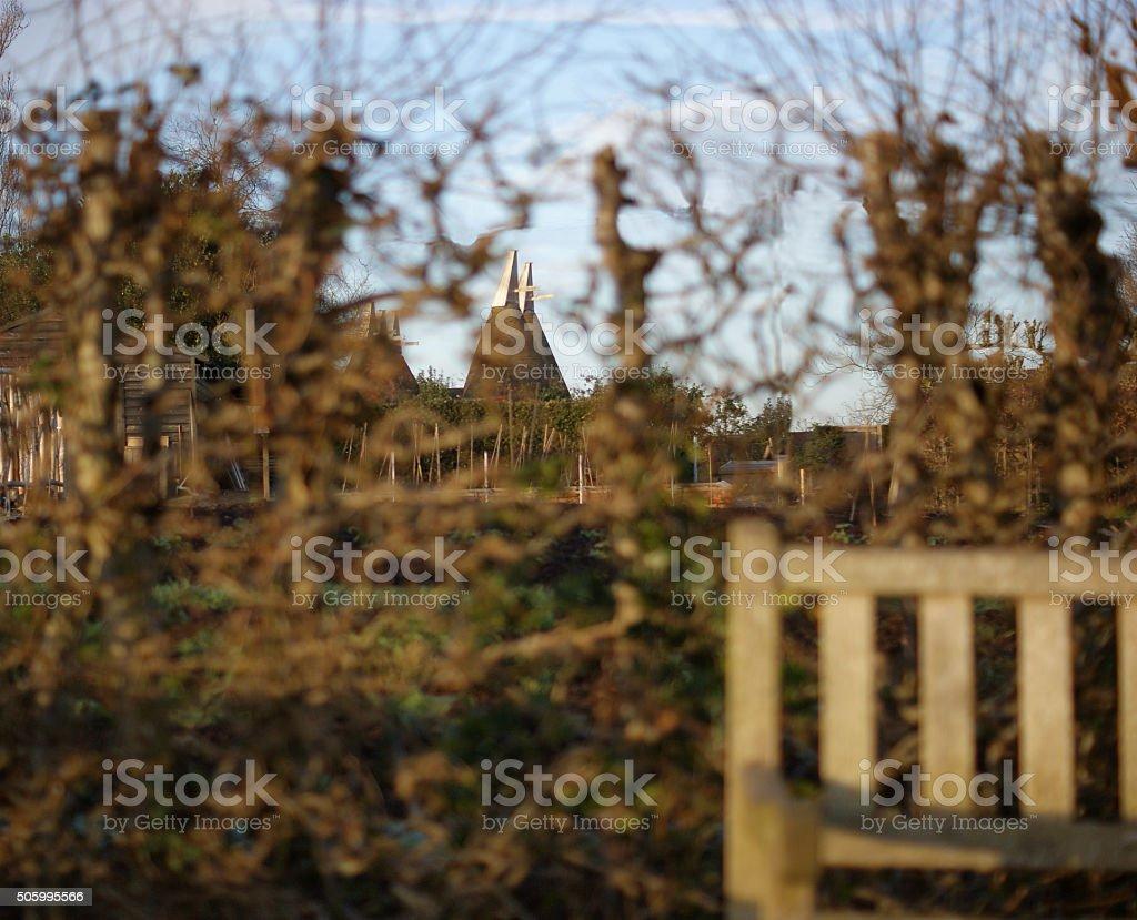 Garden of England stock photo