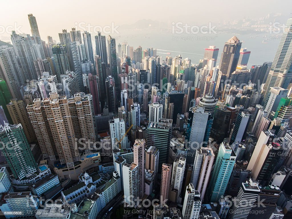 Attractive Garden Of Stones In Hong Kong Royalty Free Stock Photo