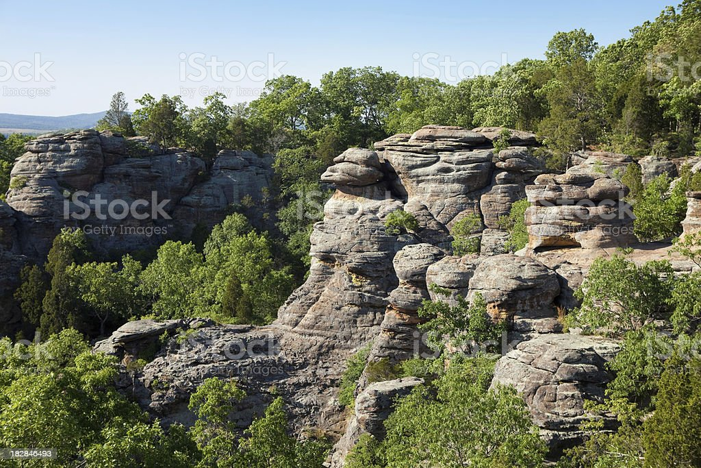 Garden of the Gods - Camel Rock stock photo