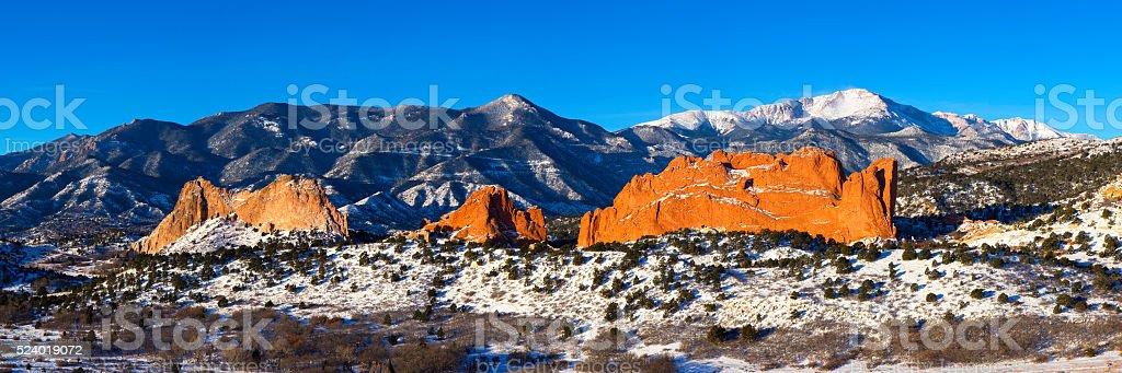 Garden of the Gods, Colorado Springs - Stock image stock photo
