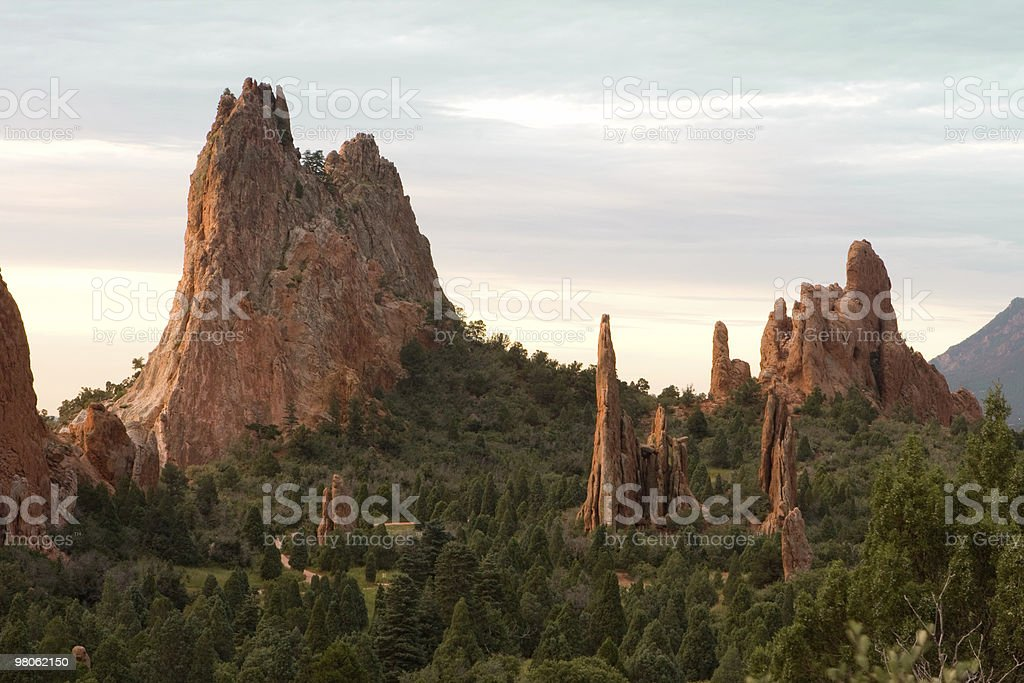 Garden of the Gods royalty-free stock photo