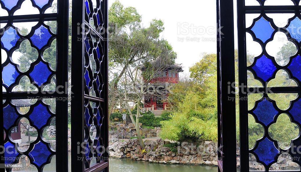 Garden of the Humble Administrator , Suzhou, China stock photo