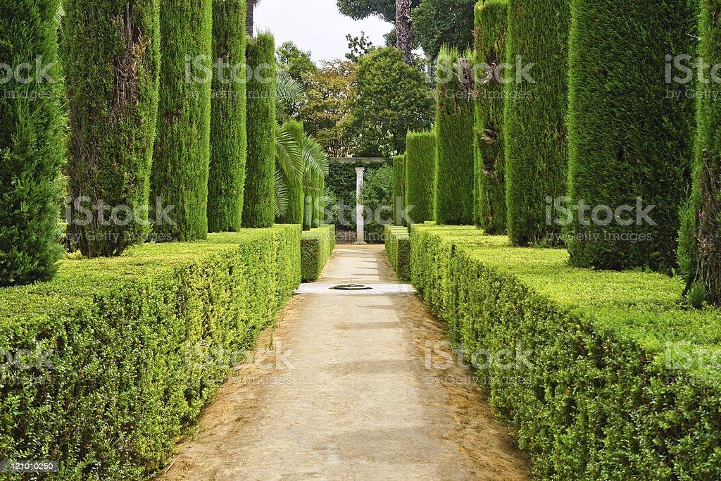 Garden of the Poets royalty-free stock photo