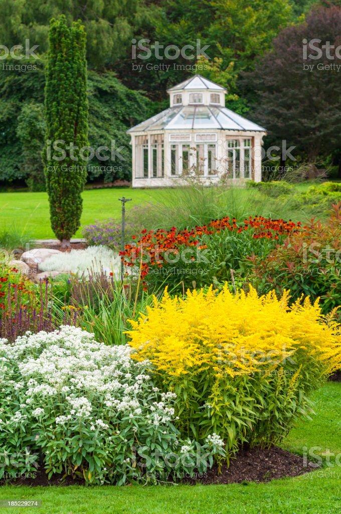 Garden Pavilion royalty-free stock photo