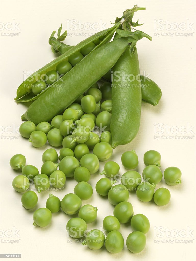 Garden Pea royalty-free stock photo