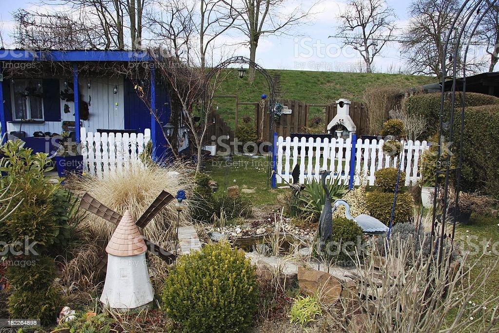 garden plot stock photo