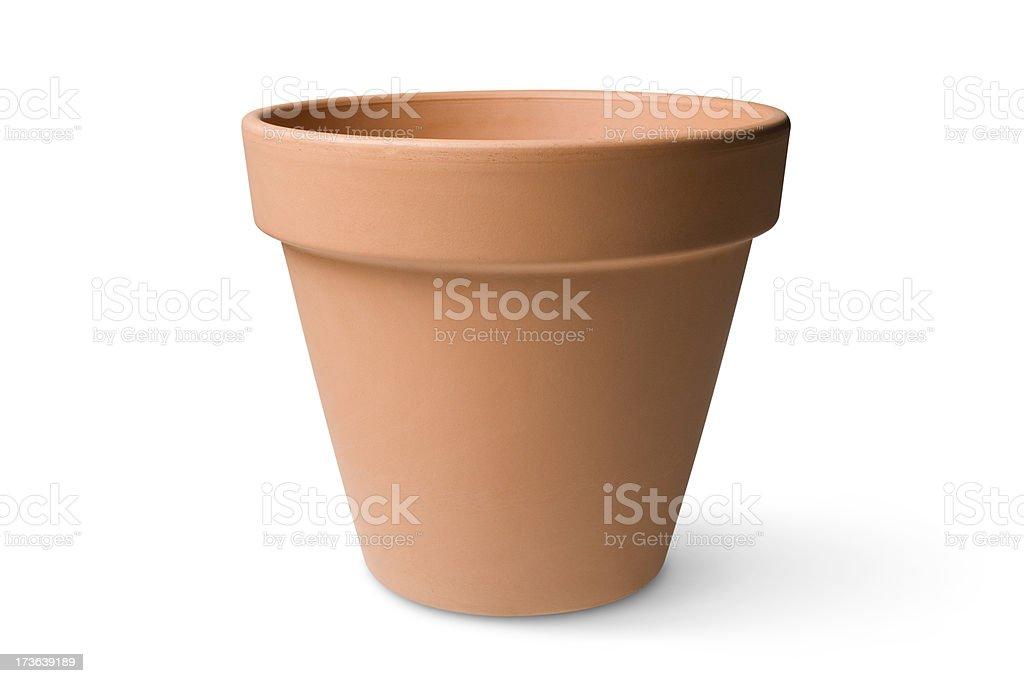 Garden pot royalty-free stock photo