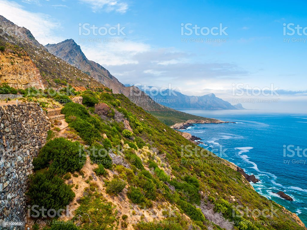 Garden Route in South Africa stock photo