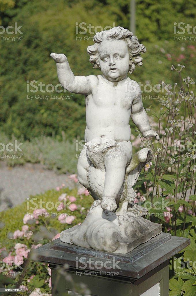 Garden Sculpture royalty-free stock photo