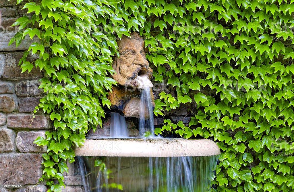 Garden sculpture stock photo