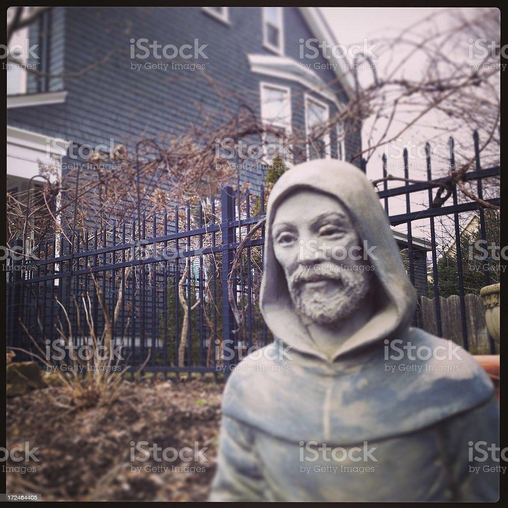 Garden Statue royalty-free stock photo