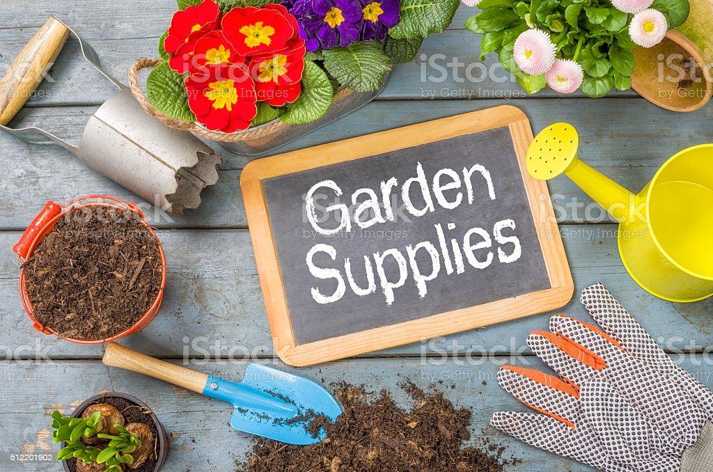 Garden Supplies stock photo