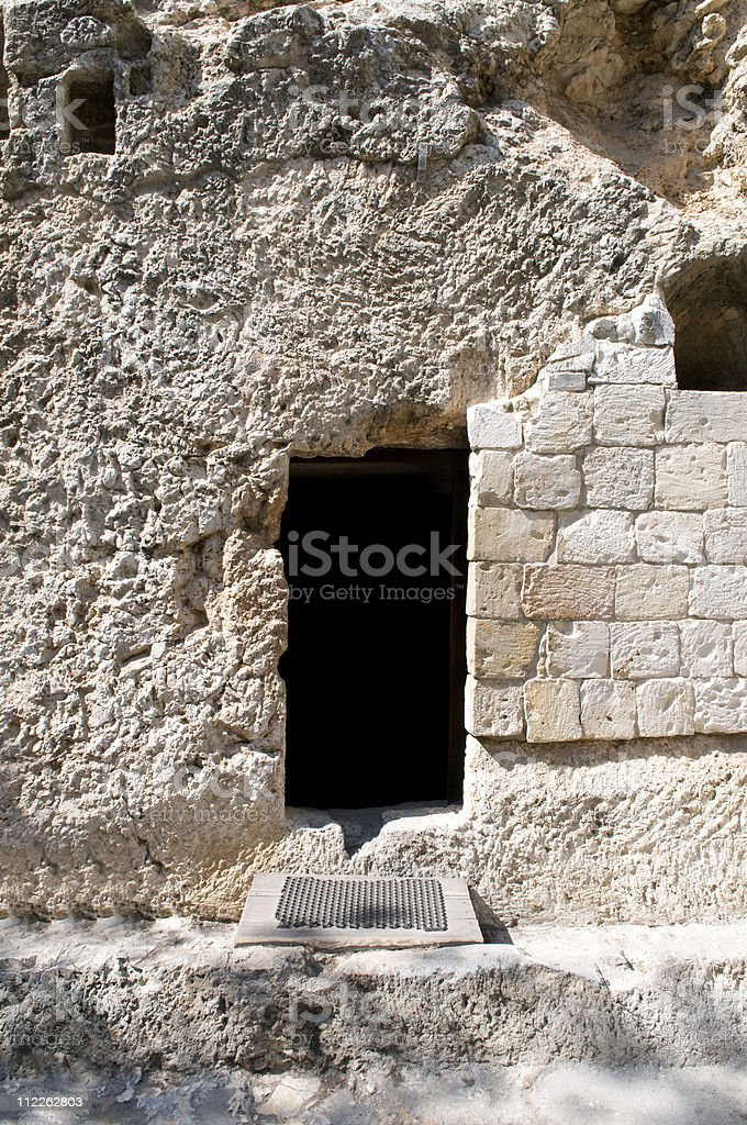 Garden Tomb - Jerusalem stock photo