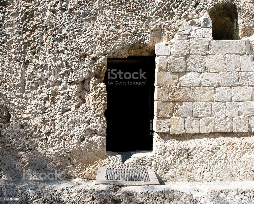 Garden Tomb - Jerusalem stock photo