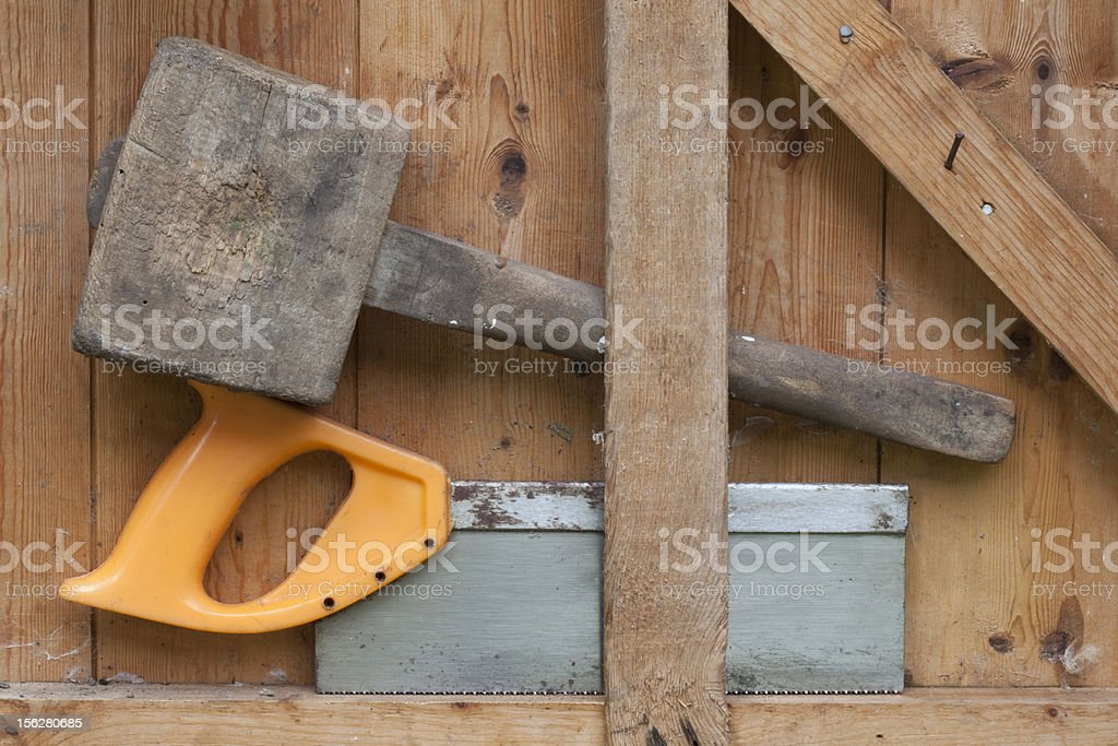 Garden Tools royalty-free stock photo