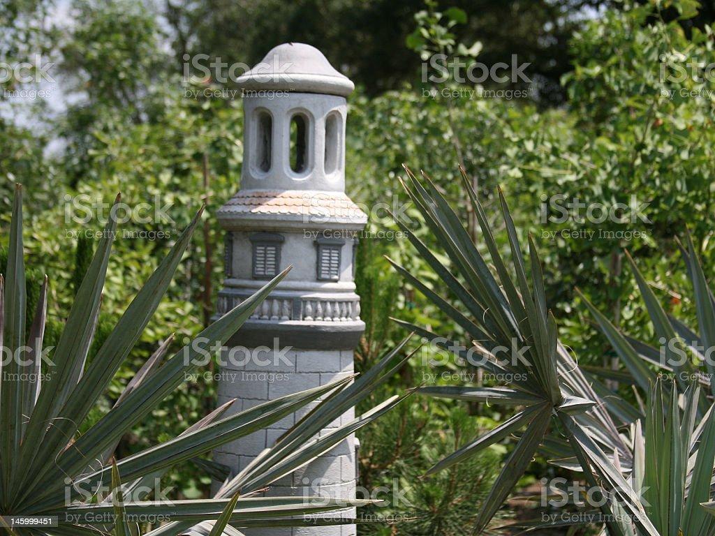 Garden Tower royalty-free stock photo
