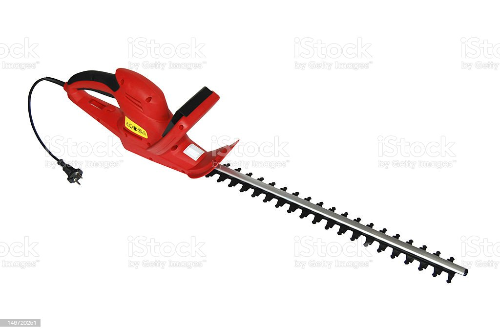 Garden trimmer royalty-free stock photo