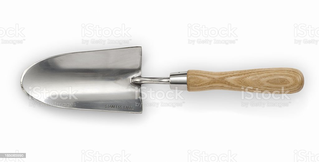 Garden Trowel stock photo