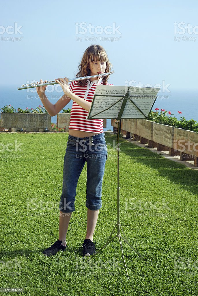 Garden tune royalty-free stock photo