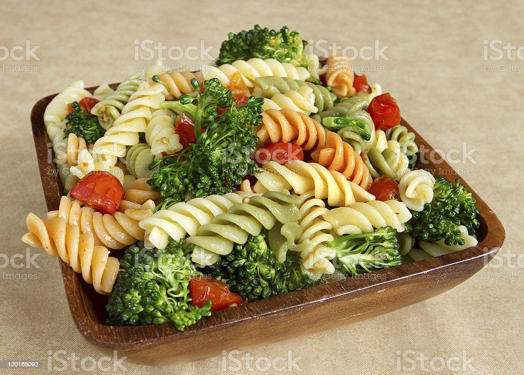 garden veggie salad stock photo