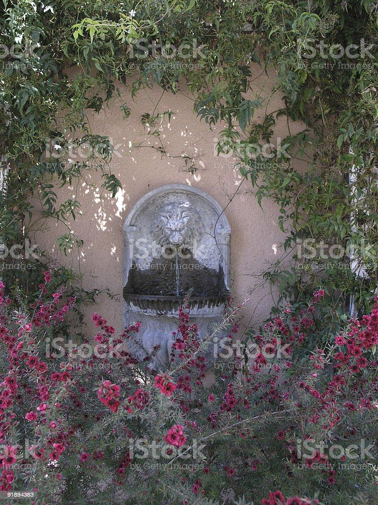 Garden Wall royalty-free stock photo