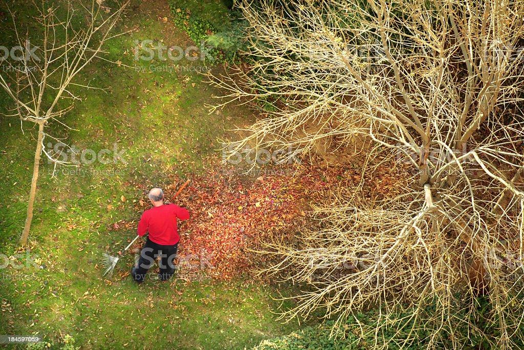 garden work royalty-free stock photo