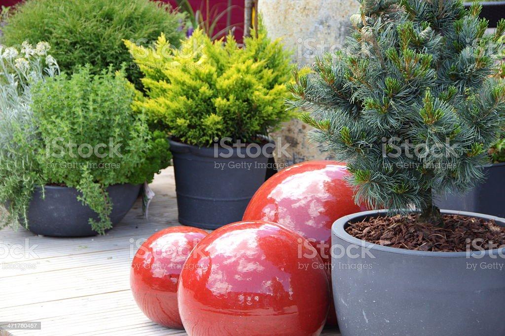Gardendesign royalty-free stock photo