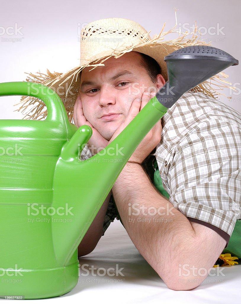 gardener 5 royalty-free stock photo