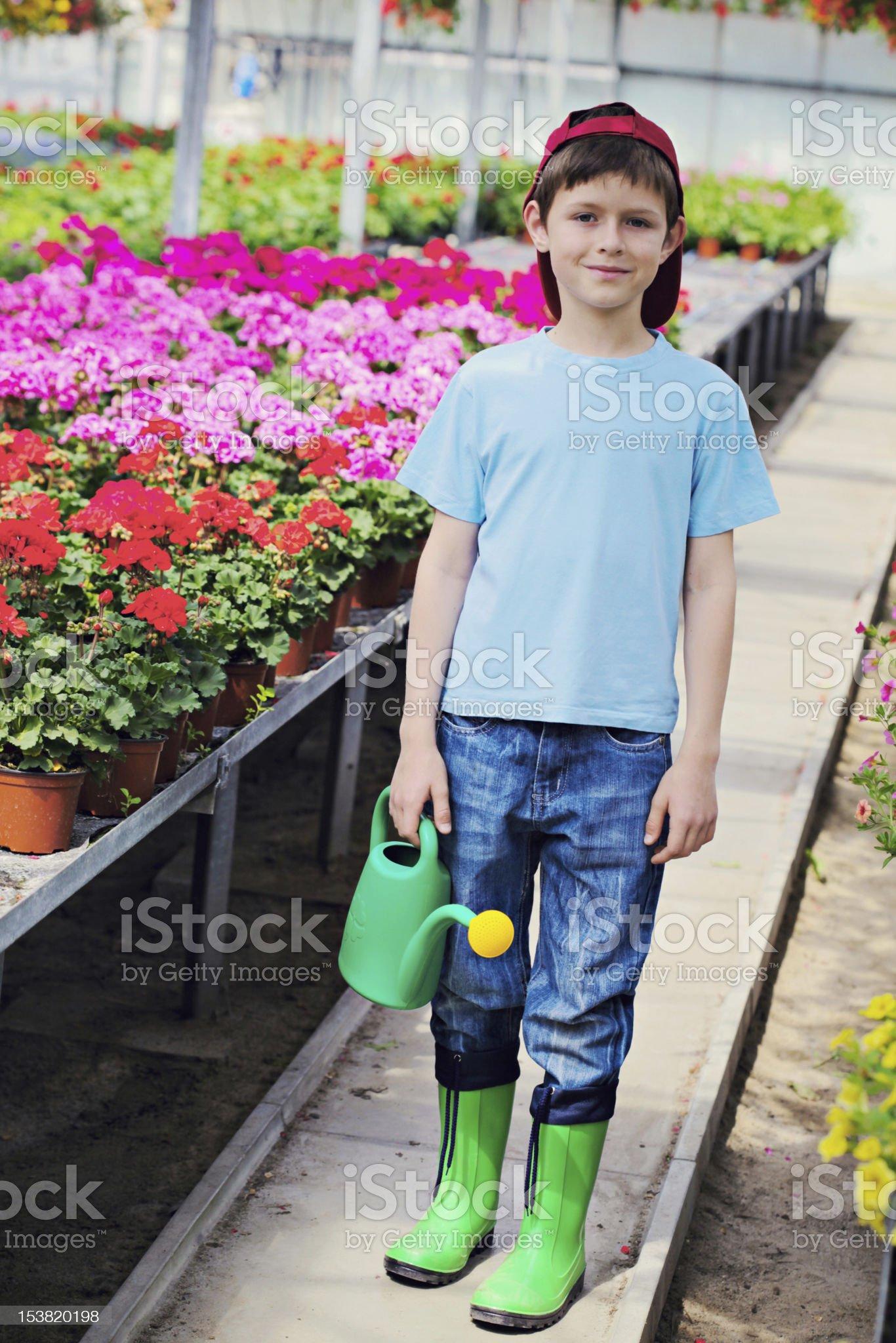 gardener royalty-free stock photo