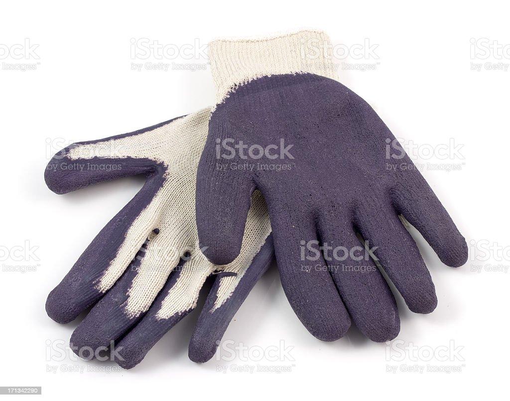Gardeners Gloves stock photo