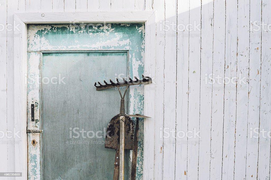 Gardening equipment royalty-free stock photo