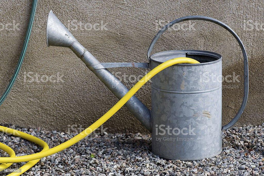 Gardening pitcher royalty-free stock photo