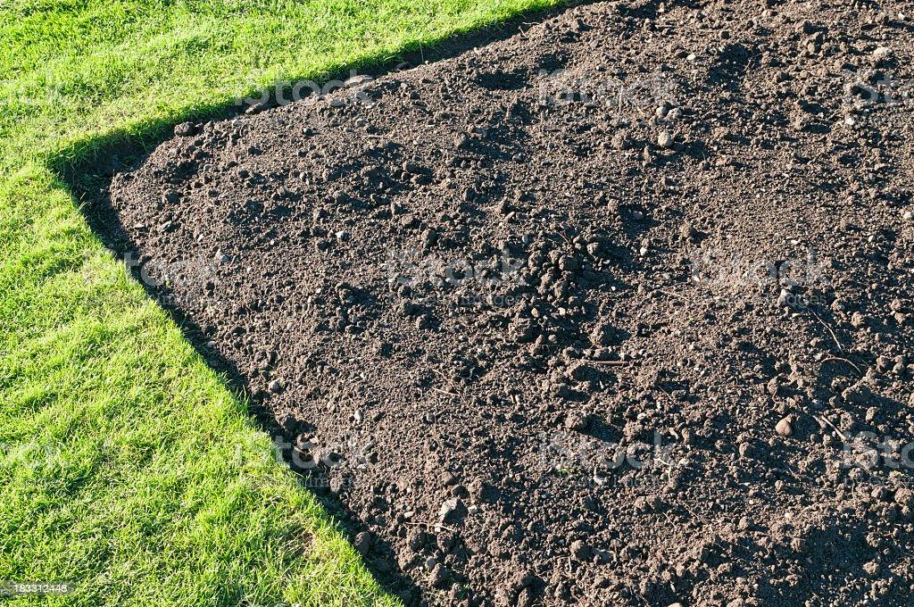 Gardening Soil royalty-free stock photo