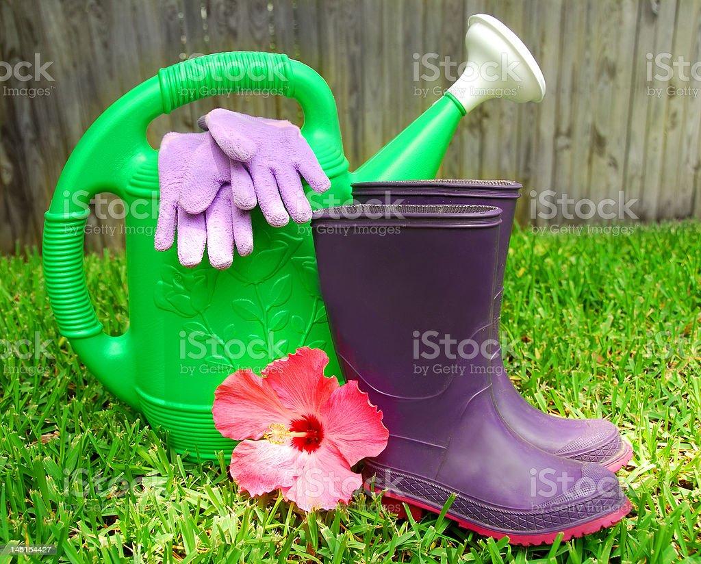 Gardening Supplies royalty-free stock photo